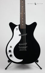 Danelectro '59 Vintage Specs 12 String Black Lefty