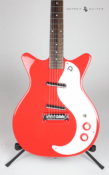 Danelectro '59 Mod New Old Stock Right On Red
