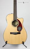 Fender CC-140SCE Natural w/ Case