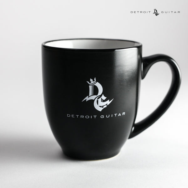 Detroit Guitar 16 Oz Two-Tone Bistro Mug