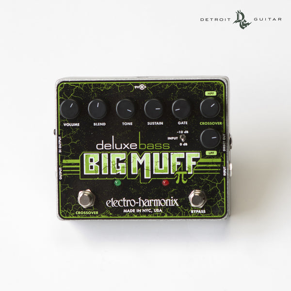 Electro-Harmonix Deluxe Bass Big Muff Pi Distortion/Sustainer