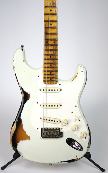 Fender Custom Shop Limited '56 Strat Heavy Relic India Ivory Over 2-Tone Sunburst
