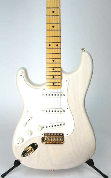 Fender Custom Shop Vintage Custom '57 Strat Left Handed Aged White Blonde