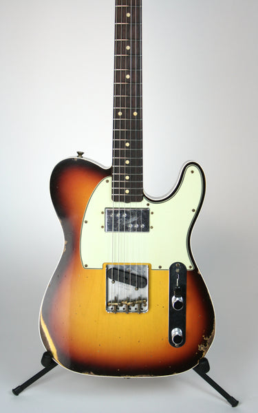 Fender Custom Shop Limited CuNiFe Telecaster Custom Relic Faded Aged Chocolate 3-tone Sunburst