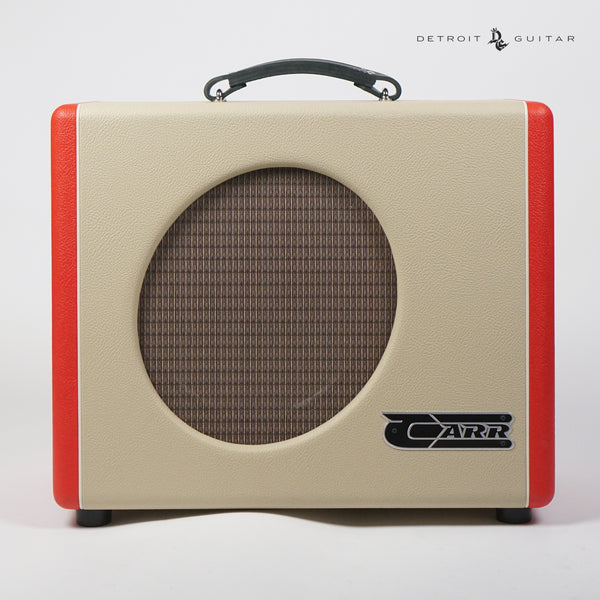 "Carr Mercury V 1x12"" 16-Watt Combo Two-Tone Red/Cream/Red"