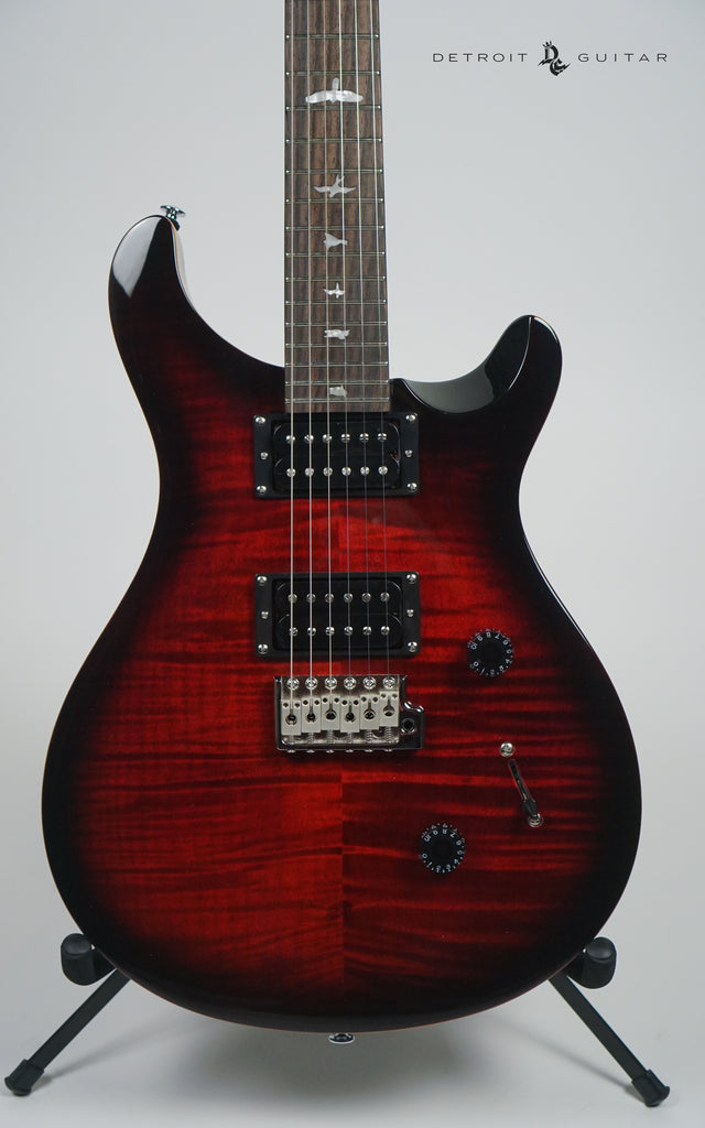 Paul Reed Smith SE Custom 24 Fire Red Burst w/ Bag