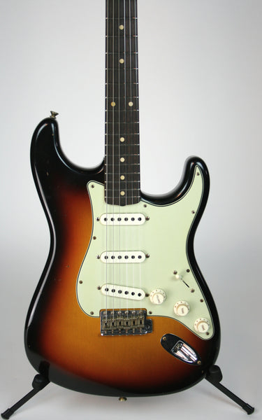 Fender Custom Shop LTD '62/'63 Strat Aged 3-Color Sunburst