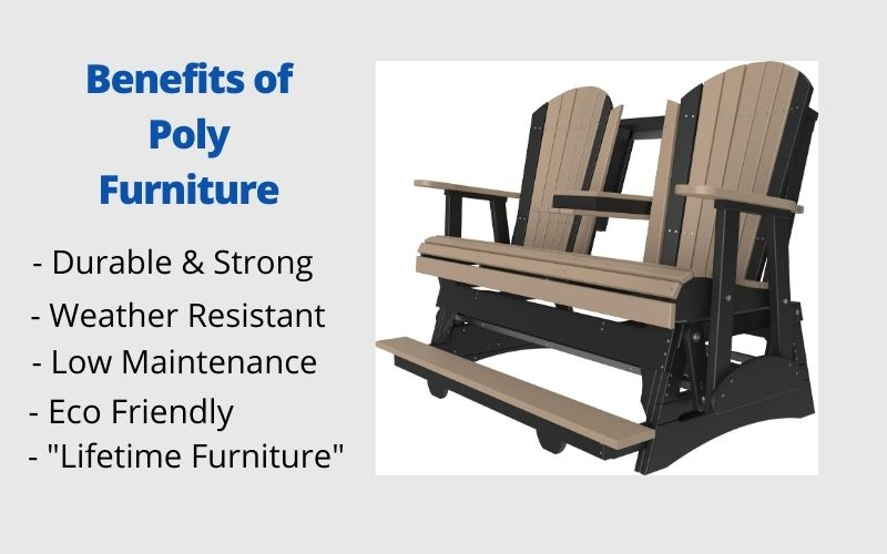 Benefits of Poly Furniture