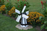 Amish Small Wooden Windmill - Dutch Style - Pressure Treated Pine