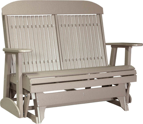 Luxcraft 4ft Highback Recycled Plastic Patio Glider (Poly)