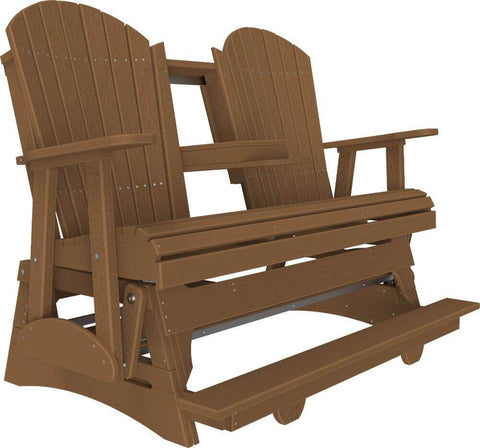 Luxcraft 5ft Poly Adirondack Balcony Glider - Flipdown Console