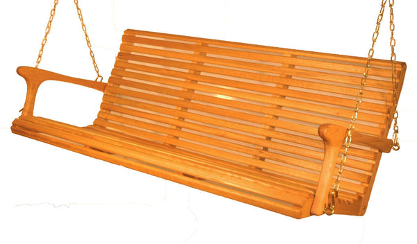 Classic 5ft Porch Swing - White Oak - Sittin' Easy