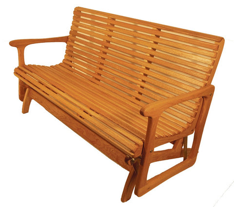 5ft Glider - White Oak - Sittin' Easy
