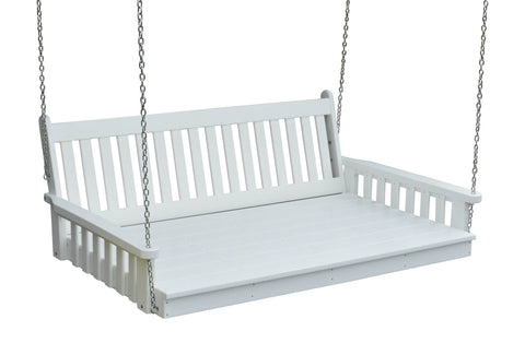 Poly Swing Bed (4ft, 5ft, 6ft) - Traditional Design - A&L Furniture