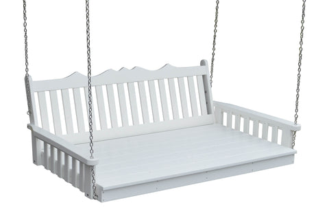 Poly Swing Bed (4ft, 5ft, 6ft) - Royal Design - A&L Furniture