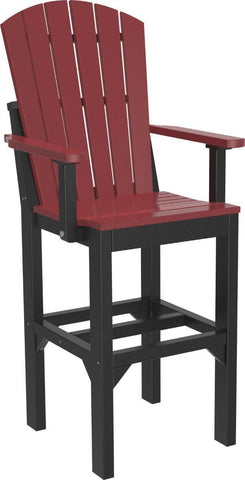 Luxcraft Poly Tall Adirondack Chair - Bar Height