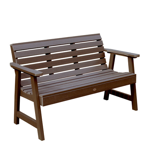 Synthetic Wooden Garden Bench - Weatherly collection - Highwood - 4ft, 5ft