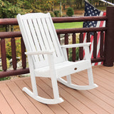 Lehigh Rocking Chair - Synthetic Wood - Highwood