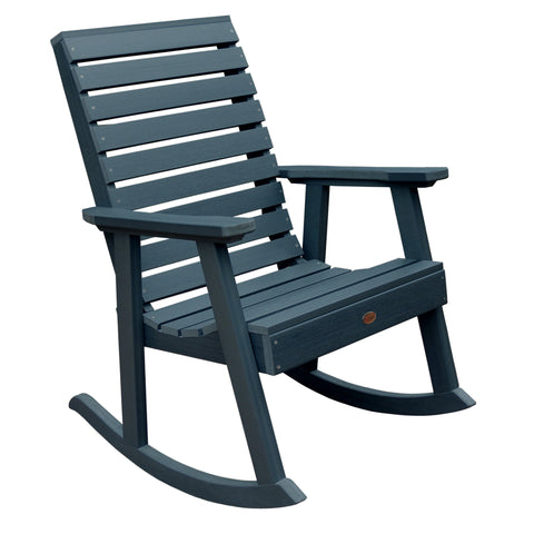 Weatherly Rocking Chair - Synthetic Wood - Highwood