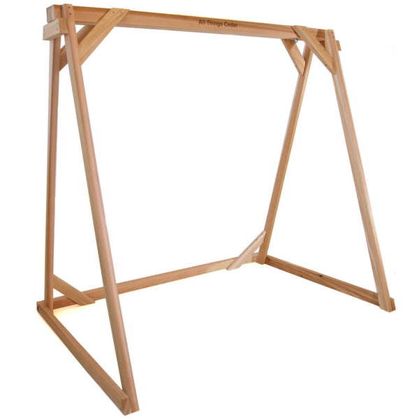 A-Frame Swing Stand - Red Cedar - All Things Cedar