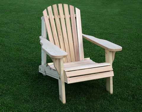 Adirondack Chair - Red Cedar - American Forest - Creekvine Designs