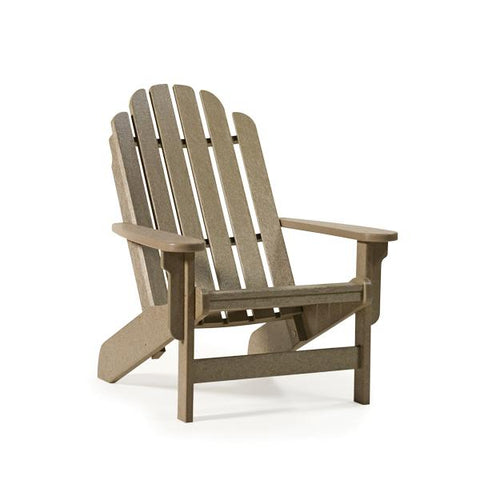 Breezesta Shoreline Adirondack Chair Weatherwood