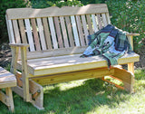 Countryside Red Cedar Glider - Creekvine Designs - 2ft, 4ft, 5ft, 6ft