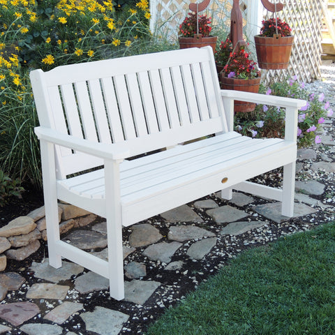 Synthetic Wood Garden Bench - Lehigh collection - Highwood - 4ft, 5ft