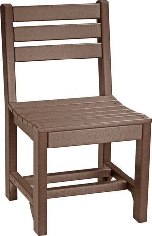 Amish Luxcraft Poly Island Side Chair - Dining Height
