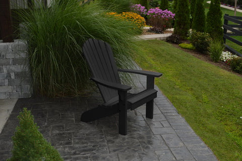 Amish Poly Fanback Adirondack Chair - A&L Furniture