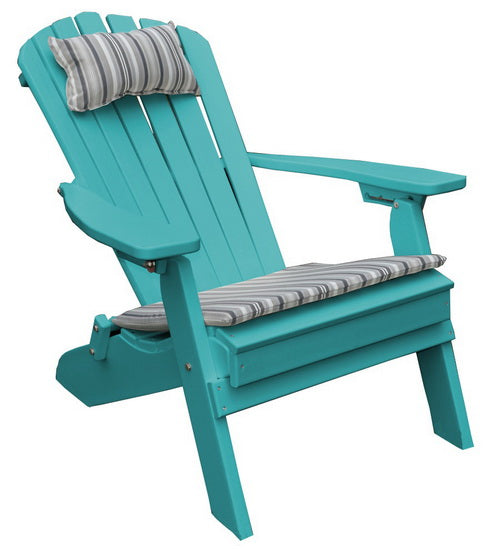 Folding Poly Adirondack Chair - A&L Furniture