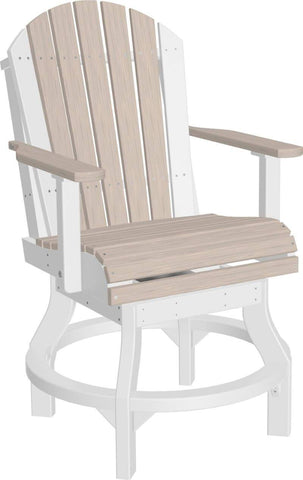 Luxcraft Poly Adirondack Swivel Chair - Counter Height