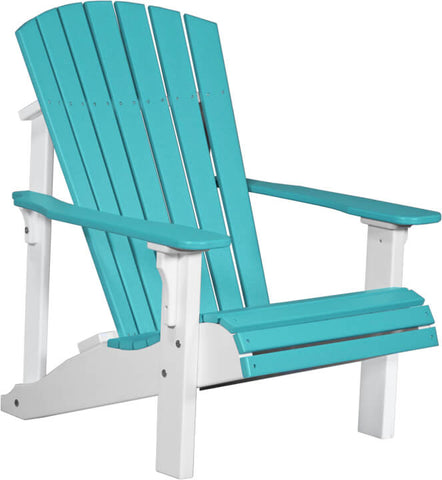 Recycled Plastic Poly Deluxe Adirondack Chair (Luxcraft)