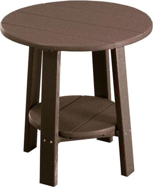 "Luxcraft Poly Deluxe End 22"" Table"