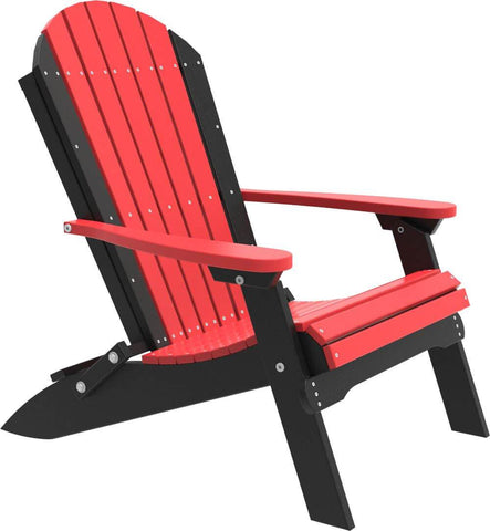 Luxcraft Poly Folding Recycled Plastic Adirondack Chair