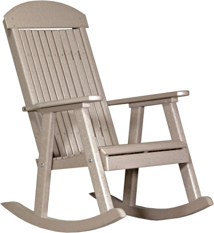 Luxcraft Poly Porch Rocker