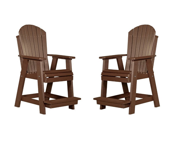 Luxcraft Adirondack Balcony Chair Set (2 Poly Chairs)