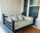 Porch Swing Bed_Elegant Charleston_Distressed_Finish_Carolina
