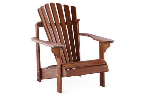 Teak Adirondack Chair - Hyres Country Haven