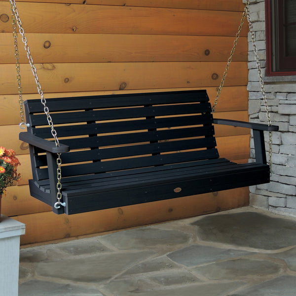 Synthetic Wood Porch Swing - Weatherly collection - Highwood - 4ft, 5ft