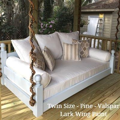 Low Country Swing Bed - West Ashley - Twin Size - Pine
