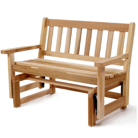4ft Wooden Glider Bench - All Things Cedar