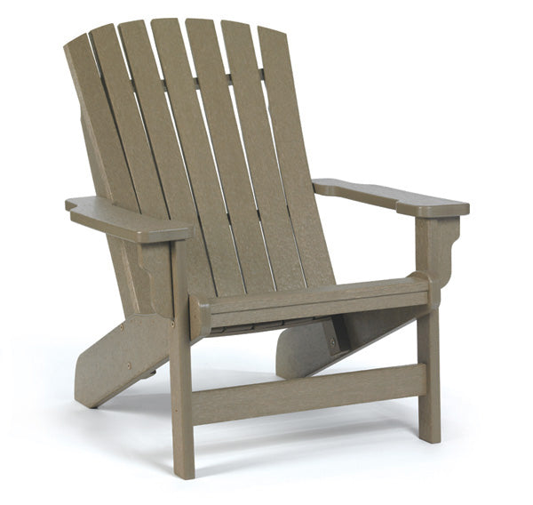 Breezesta Poly Fanback Adirondack Chair