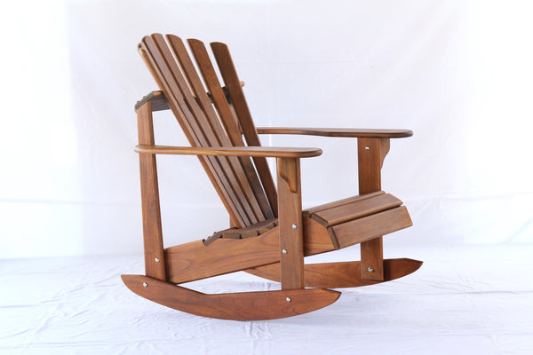Teak Adirondack Rocker - Hyres Country Haven