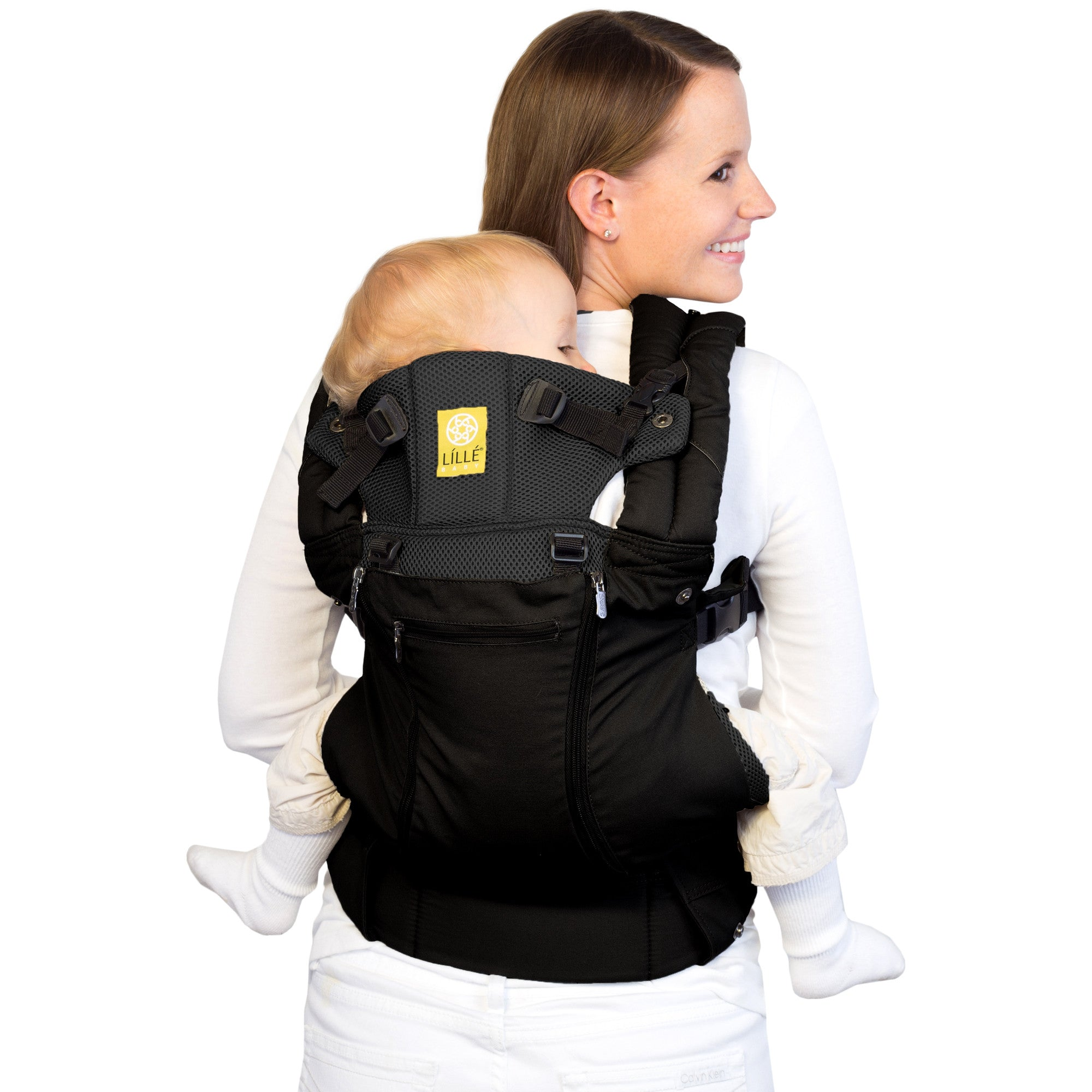 ee56b4c9934 Lillebaby Complete All Seasons Baby Carrier - Black - Plushbottom
