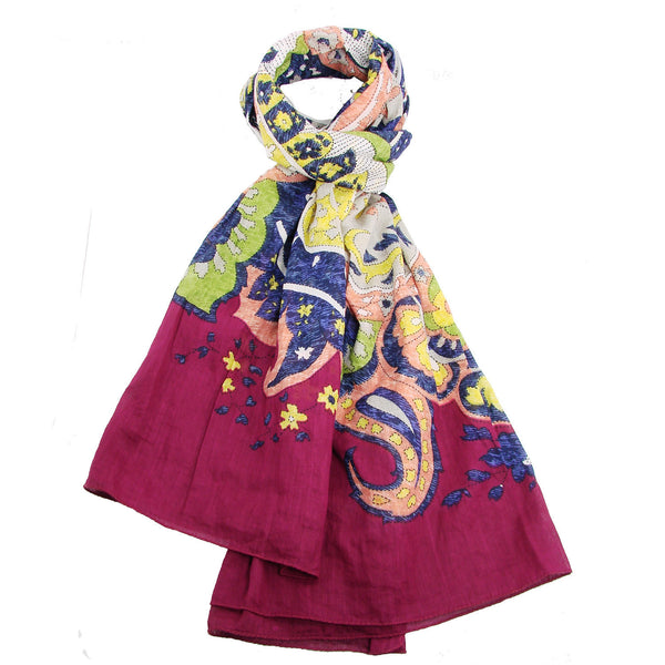 Matisse Scarf - Multicolor Handmade and Fair Trade
