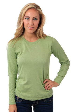Organic Long Sleeve Crew Tee