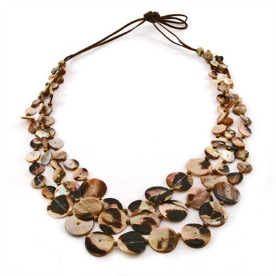 Java Natural Shell Necklace