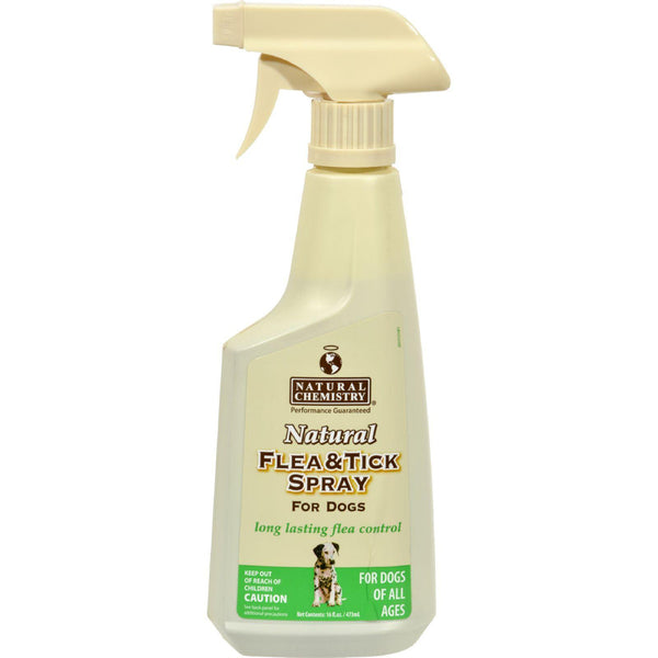 Natural Chemistry Flea And Tick Spray For Dogs - 16 Oz