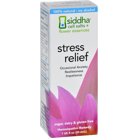 Sidda Flower Essences Stress Relief - 1 Fl Oz